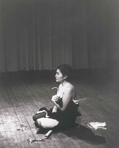 Yoko Ono's Cut Piece video of two live performances  from 1965 and 2003 will be screened.