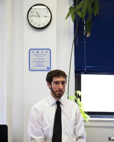 Noah Budnick, deputy director at Transportation Alternatives in New York City.
