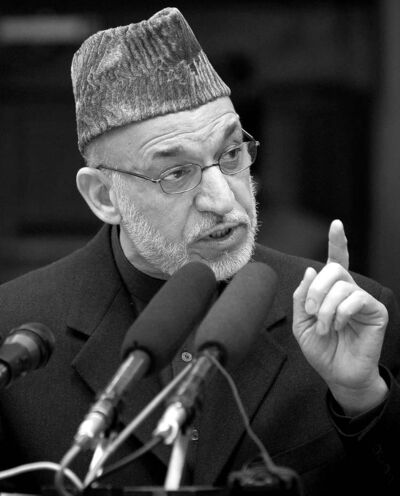 Hamid Karzai may have won the first presidential election in 2005 legitimately, but by the second election in 2009, he was so unpopular that he was only re-elected thanks to massive vote-rigging.