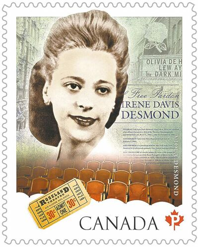 A stamp honouring Viola Desmond, a figure in the fight for civil rights in Nova Scotia, was issued by Canada Post earlier this year. Is her story a positive or critical one of Canada's human rights record?