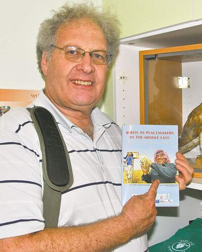 Dr. Yossi Leshem, a renowned ornithologist from Israel who is in Manitoba this weekend speaking about his work with birds and conservation at FortWhyte Alive on Sunday and Oak Hammock Marsh on Monday.