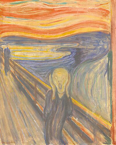 Oslo National Gallery and Munch MuseumEdvard Munch�s �The Scream,� is one of the most renowned icons of modern art.