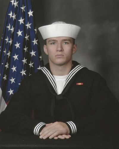This image provided by the U.S. Navy shows Navy Corpsman Maxton W. Soviak, 22, of Berlin Heights, Ohio, who was killed in the explosion at the airport in Kabul, Afghanistan, on Aug. 26, 2021. Eleven Marines, one Navy sailor and one Army soldier were among the dead, while 18 other U.S. service members were wounded in Thursday's bombing, which was blamed on Afghanistan's offshoot of the Islamic State group. (U.S. Navy via AP)