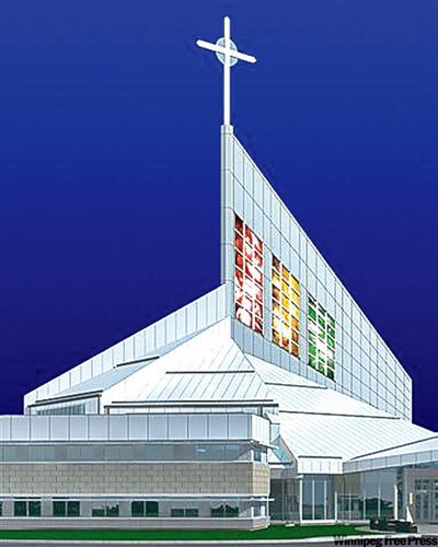Holy Family Catholic Cathedral in Saskatoon will combine art and technology.