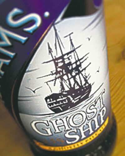 Adnams Ghost Ship Ale.
