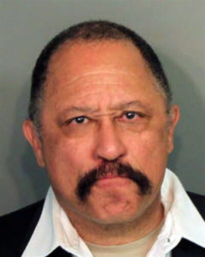 Judge Joe Brown, is picturd in a Tennessee booking photo released on March 24, 2014. THE CANADIAN PRESS/AP, HO - Shelby County Sheriff