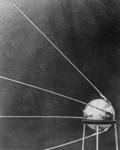 The Associated Press files</p><p>The speed and range of the Soviet rocket carrying the Sputnik I satellite, seen here in a 1957 photo, spurred the American scientific and military communities into action.</p>