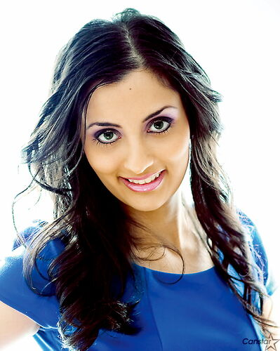 Amin Dhillon, 25, is in Durban, South Africa this week competing with more than 30 other women in the Miss India Worldwide pageant.