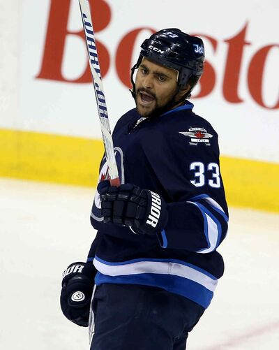 When head coach Paul Maurice was asked where he saw Dustin Byfuglien lining up, he didn't hesitate for a second before responding, 'he'll be starting at forward.'