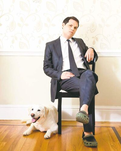 "Michael Ian Black: ""I think this book has its share of humour."""