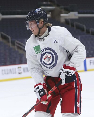 RUTH BONNEVILLE / WINNIPEG FREE PRESS files</p><p>Patrik Laine has indicated he wants a trade, via his agent Mike Liut, who said a deal would be 'mutually beneficial.'</p></p>
