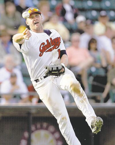 TREVOR HAGAN/WINNIPEG FREE PRESS ARCHIVESOutfielder/first baseman Josh Mazzola is on a tear and one of the players to watch as the Fish make their playoff push.