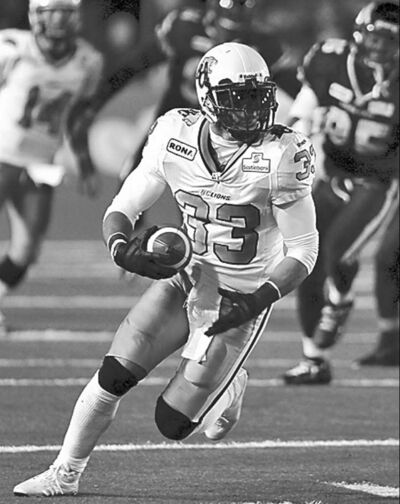 Dave Chidley / the canadian press archivesB.C. Lions running back Andrew Harris ran wild last season.