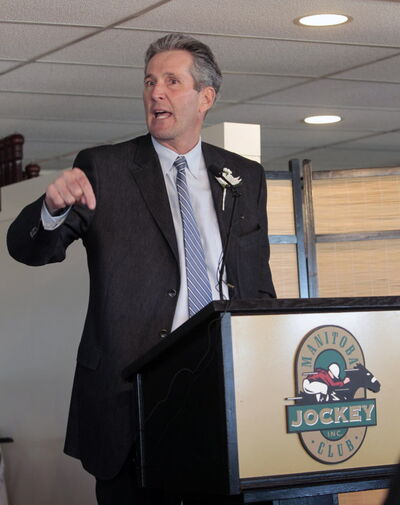 Brian Pallister leader of the Progressive Conservative Party of Manitoba.
