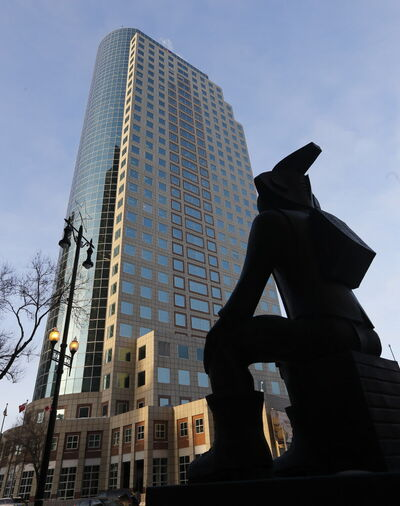 The Asper family has put 201 Portage, the city's tallest building, up for sale.