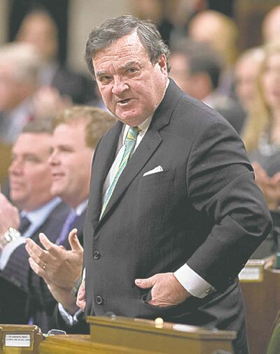Finance Minister Jim Flaherty: bullish