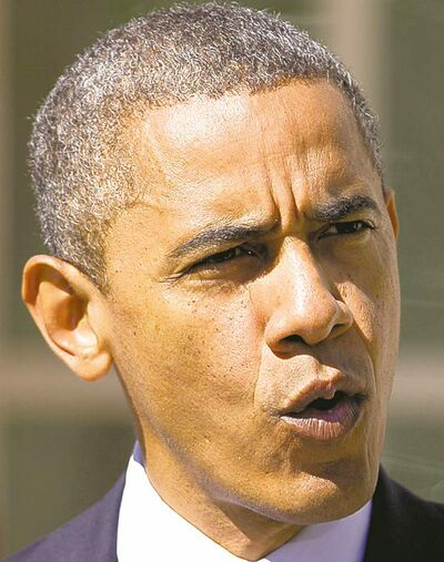 The Associated Press archives  Obama's team wants him to avoid looking impatient.