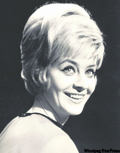 The then Peggy Neville starred in Winnipeg-produced TV shows in the  1960s.