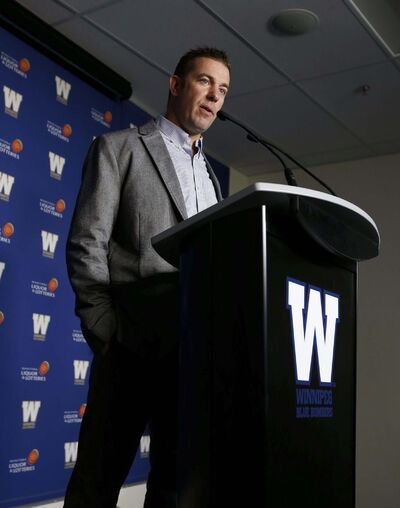 WAYNE GLOWACKI / WINNIPEG FREE PRESS FILES</p><p>Winnipeg Blue Bombers general manager Kyle Walters has been making a lot of calls lately.</p>