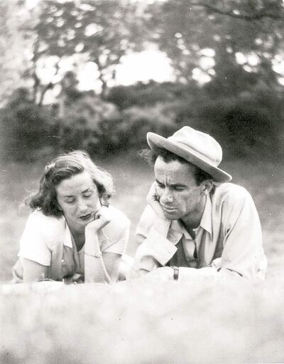 Val Werier and his late wife Eve at Kildonan Park.
