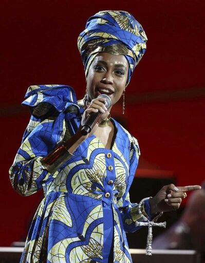 Jazzmeia Horn (Matt Sayles / Invision files) </p>