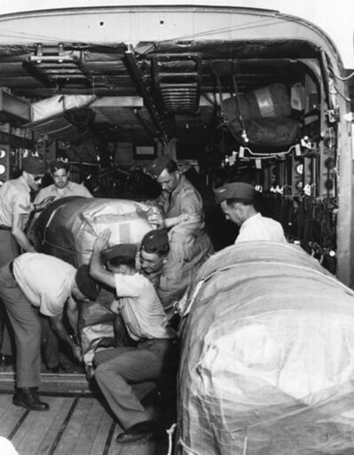 The Royal Canadian Air Force made at least one mercy trip to Boston to pick up more respirators.</p></p>