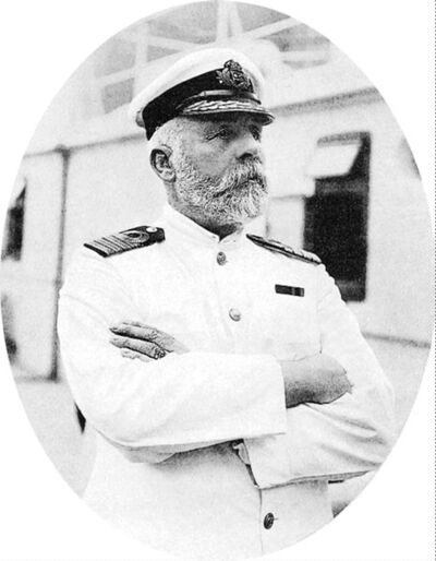 Edward Smith, captain of Titanic, in 1911.