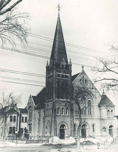 Old Holy Rosary Church, Sherbrook and Bannatyne, 1929