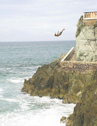 Ron Pradinuk / Winnipeg Free PressWith no non-stop service to Mazatlan travelers will miss attractions like the local cliff diver performances.