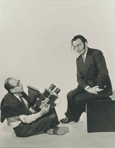 Philippe Halsman and Salvador Dali (1953)