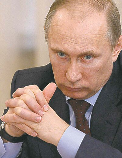 Russian President Vladimir Putin insists his motive is to protect ethnic Russians.