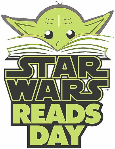 "Logo for ""Star Wars Reads"" a literacy initiative aimed at October 6, 2012. (MCT)"