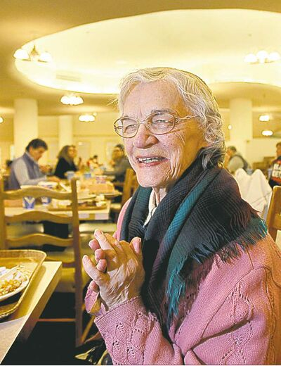 Irene Andrusko has been coming to the restaurant for over 30 years.
