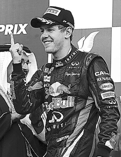 Sebastian Vettel has started his defence of the world title in style.