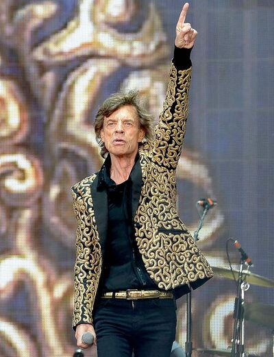 Mick Jagger and the Rolling Stones returned to Hyde Park in London to play for 65,000 on Saturday.