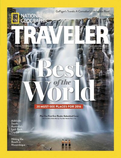 National Geographic Traveler  20 must-see places for 2016 December 2015/January 2016 edition. Winnipeg has been named one of National Geographic Traveler's 20 best trip destinations for 2016.