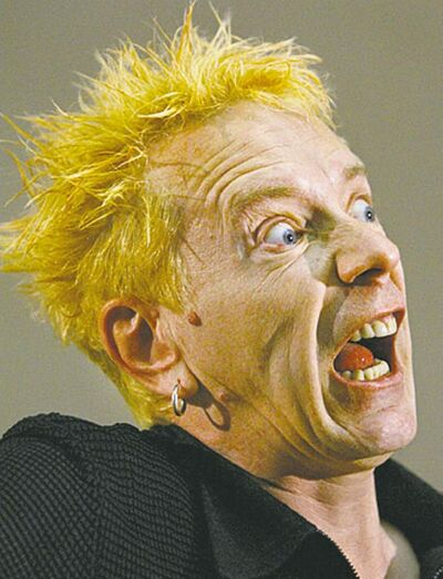 John Lydon, AKA Johnny Rotten of the Sex Pistols