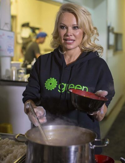 Darryl Dyck / The Canadian Press files</p><p>Actress and animal rights activist Pamela Anderson is urging Prime Minister Justin Trudeau to turn vegan.</p>
