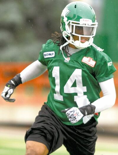 Saskatchewan Roughriders' James Patrick