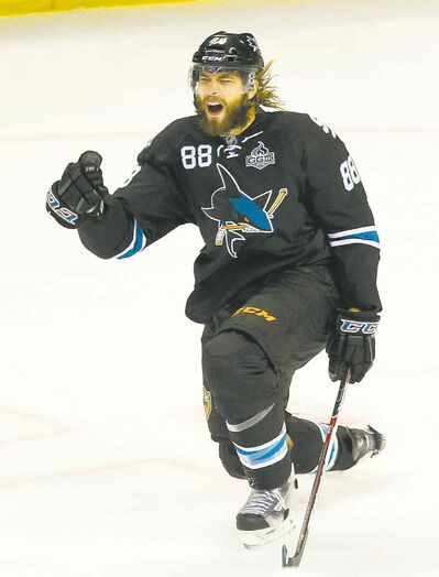 Switching Brent Burns from the blue-line to forward has been an unqualified success for San Jose.