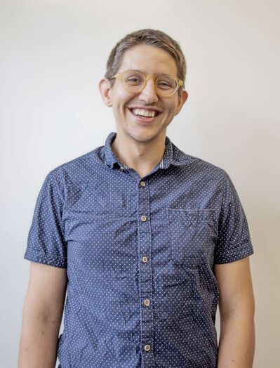 A profile photo of Nathan Krahn, campus director for Spirit of Math's 1420 Portage Ave. location.