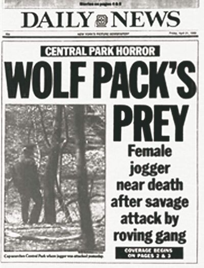 The Central Park Five made headlines in 1989.