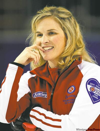 Jennifer Jones said her team had lost something, and that the shakeup has made it 'one of the most amazing things I've ever been through.'