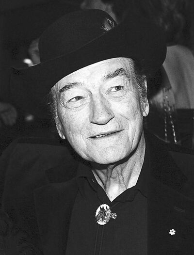 Darren Calabrese / The Canadian Press archivesStompin� Tom Connors in a 2009 photo. He died Wednesday at the age of 77.