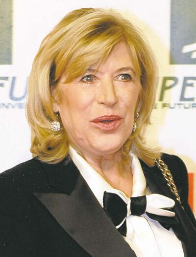 Marianne Faithfull arrives at the Women�s World Award Gala in Vienna, Austria on March 5, 2009. (Hans Punz / The Associated Press files)