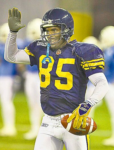 The Bombers were able to keep hall-of-famer Milt Stegall in blue and gold.