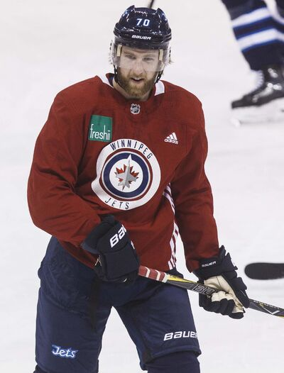 MIKE DEAL / WINNIPEG FREE PRESS FILES</p><p>The Winnipeg Jets signed defenceman Joe Morrow to a one-year contract, Wednesday.</p>