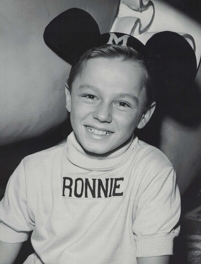 COURTESY RON STEINER</p><p>Ron Steiner was one of the original Mousketeers on the Mickey Mouse Club TV show.</p>