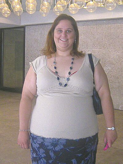 'Before' photo of Tammy Ducharme.
