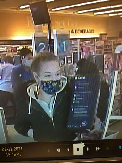 Steinbach RCMP would like to identify this person, suspected of shoplifting at Shoppers Drug Mart.
